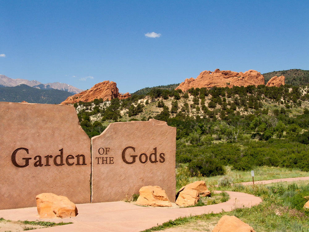 garden of the gods | Notes From The Tomato Lady