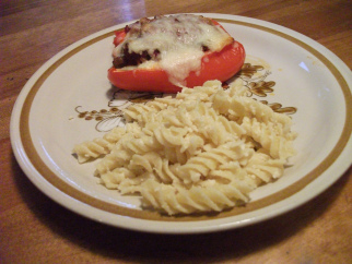 Italian take on stuffed peppers